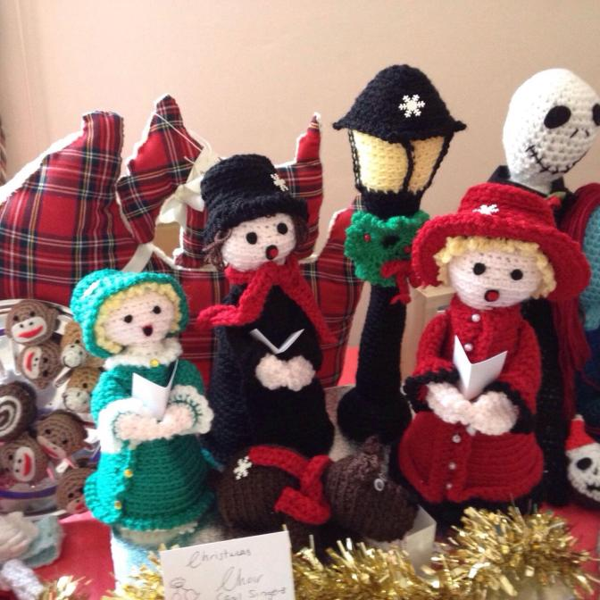 Free Pattern The Cutest Crochet Carol Singers Ever!