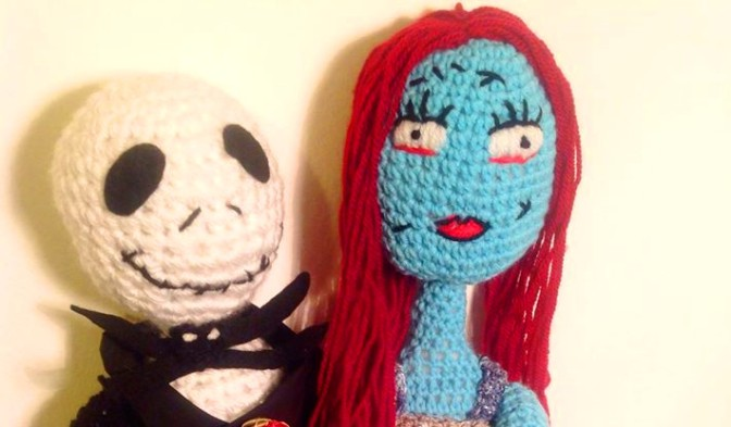 Jack and Sally – The Nightmare Before Christmas