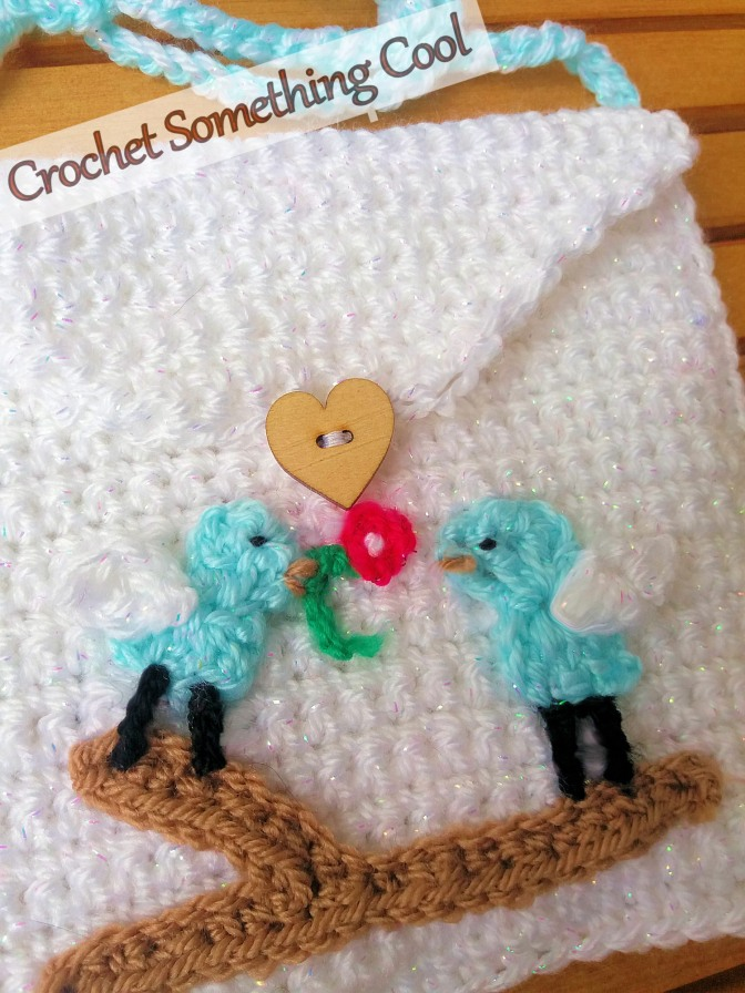 Love Birds Crochet Purse Pattern