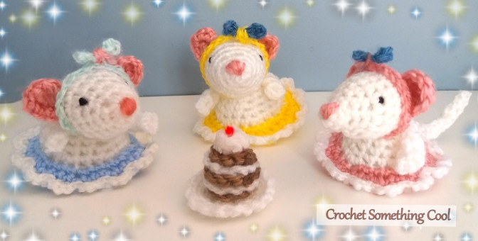 Little Mouse Tea Party Crochet Set