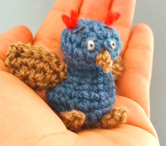 Free Pattern Rolo the Baby Bird